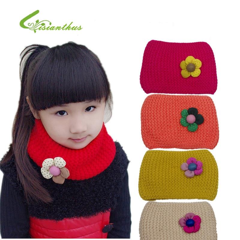 Новый Стиль дизайнерский шарф Детские вязаные шарфы для девочек осень зима