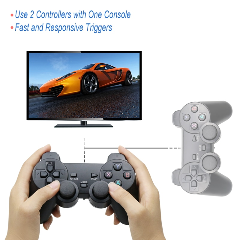 2.4G Wireless Gamepad USB Controller for PS3 Game Joypad Joysitck For Android Phone & TV & Windows Vista/7/8/10 enlarge