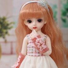 1/6 Fullset BJD poupées mode poupée jouet avec des vêtements perruques chaussures mignon plus doux cadeau pour garçons et filles cadeaux danniversaire