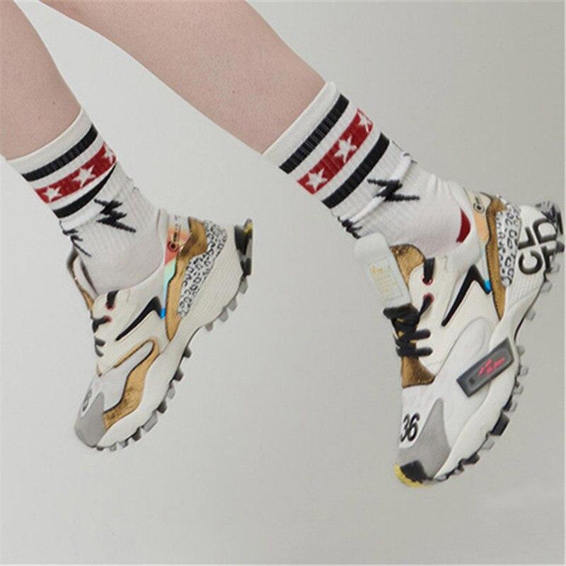 2020 nuevas zapatillas de deporte para mujer, zapatos planos informales, zapatos de plataforma con cordones para mujer, zapatillas de deporte para mujer