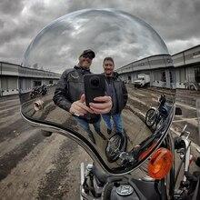 LDMET vintage moto rcycle kask jet capacetes de moto ciclista gümüş krom vespa cascos para moto cafe racer ayna