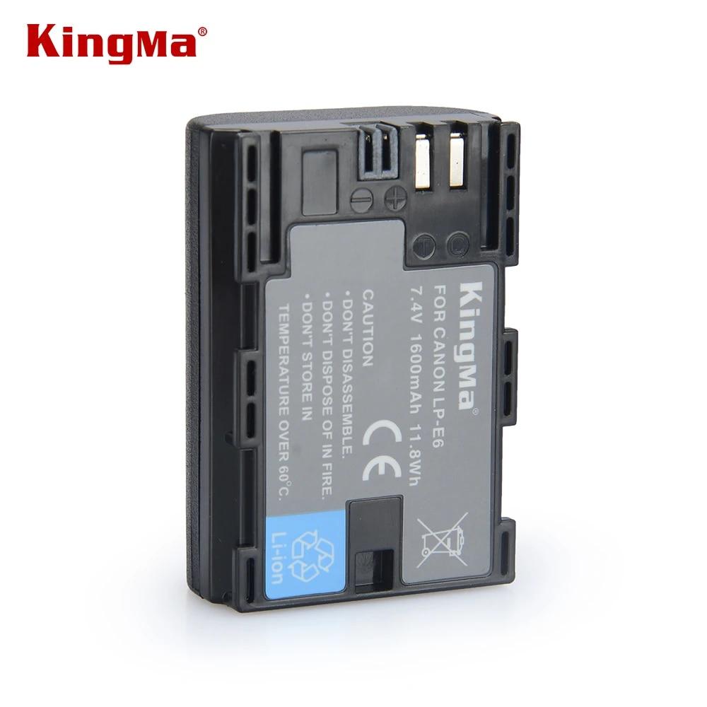 Kingma Lp E6 Lp E6 Lpe6 Camera Battery For Canon Eos 5d2 5d3 7d 6d 70d 60d Mark Ii Iii Lc E6e Batteries Free Shipping Battery For Canon Camera Batterylp E6 Lp E6 Aliexpress