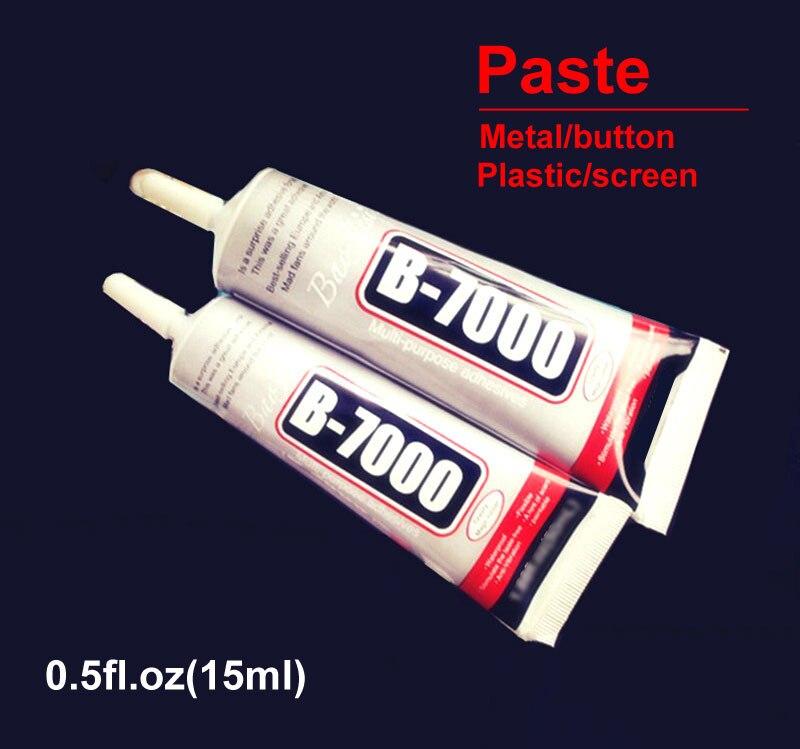 Ymitn B7000 15ml fuerza Industrial Super Adhesivo líquido transparente B-7000 pegamento teléfono reparar pasta de metal/botón/pantalla