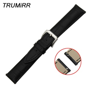 18mm 20mm 22mm Quick Release Watch Band for Seiko Men Women Genuine Leather Strap Stainless Steel Tang Clasp Belt Wrist Bracelet