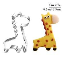 Giraffe Form Keks Form Backformen Fondant Kuchen Form DIY Zucker handwerk 3D Gebäck Cookie Schneider Backen Werkzeuge
