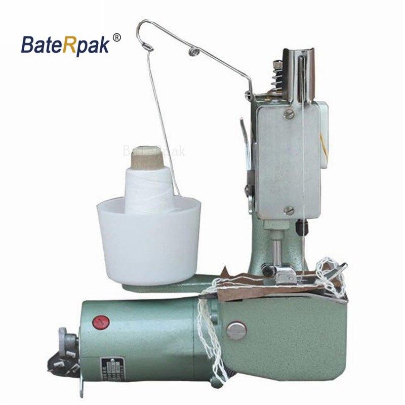 GK9-2 bacerpak, máquinas manuales de costura, máquina de paquetes de mano, cierre de bolsa tejida de PP, máquina de coser portátil eléctrica. Venta de bolsas de arroz