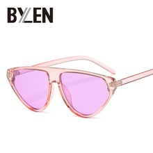 Retro Pilot Sunglasses Women Vintage Flat top Sun Glasses Cat Eye Style Brand Designer Luxury Trendy