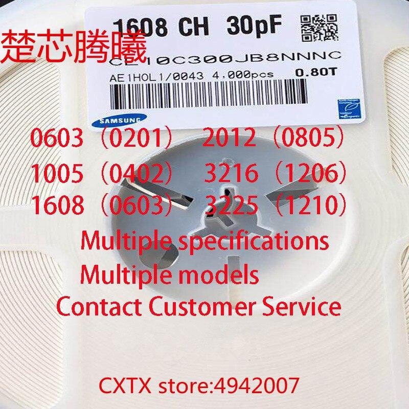 CHUXINTENGXI 1/50 piezas 1005 COG 120J ± 5% 12PF 50V 0402 multicapa chip condensador de cerámica se puede comprar en pequeñas cantidades