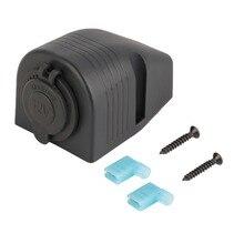 Nieuwste USB Car Charger Sigarettenaansteker Met Waterdichte Cover Met Tent Base Nieuwe Dropping Verzending