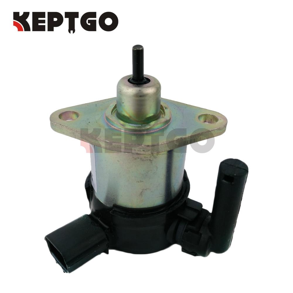 Solenoide de parada 1C010-60015 para Kubota excavadora tractor cortacésped V3300 V3600 + 1C010-60016 1C010-60017 1C010-60014
