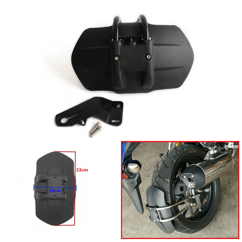 Para honda cb500f cb500x cnc acessórios da motocicleta de alumínio traseiro fender suporte moto paralama traseiro fender