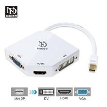 Dock thunderbolt 2 hub Mini Port daffichage vers hdmi vga dvi adaptateur 3 In1 multi-port convertisseur mini dp câble pour MacBook Pro Air