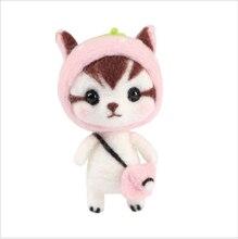 Handmade adult schwangerschaft zeit zu töten mädchen geschenke Kitty wolle nadel kit wollfilz nadel filzen dekoration handwerk