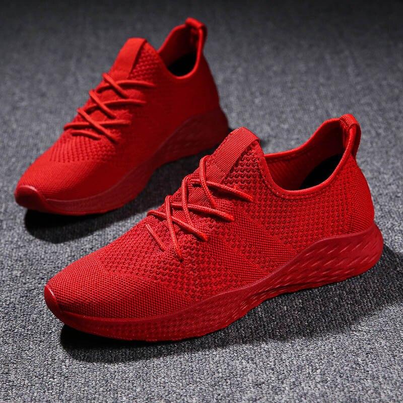 Weweya zapatillas rojas azules baratas, zapatillas para hombre, zapatillas con grafiti para exteriores, zapatillas de amortiguación para hombre, Tenis Masculino, talla grande 48