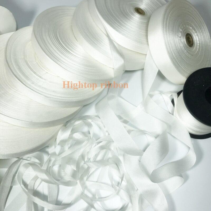 Белая натуральная Неокрашенная белая лента из натурального шелка, embroid, 2 мм, 4 мм, 10 мм, to36 мм, лента для ручной работы с вышивкой, бесплатная д...