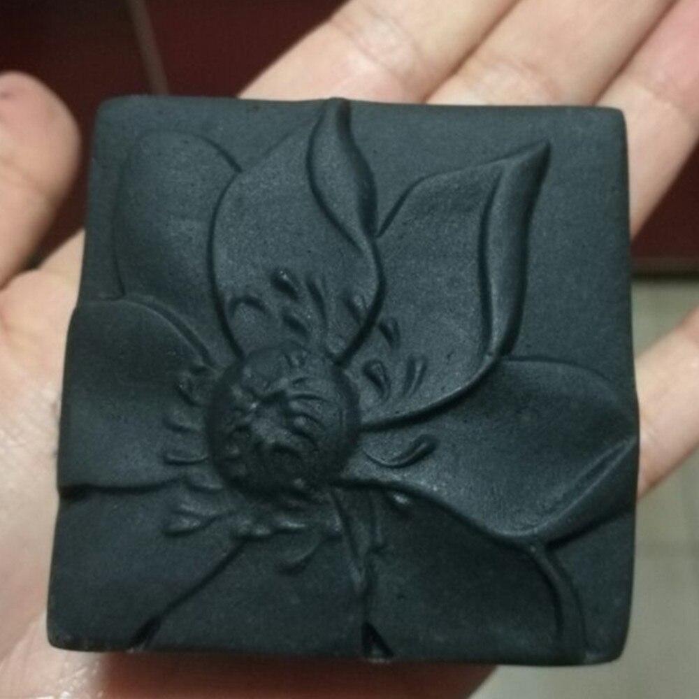 Grainrain, molde de jabón artesanal con flor de loto, molde de silicona para hacer jabón, molde hecho a mano con forma de vela