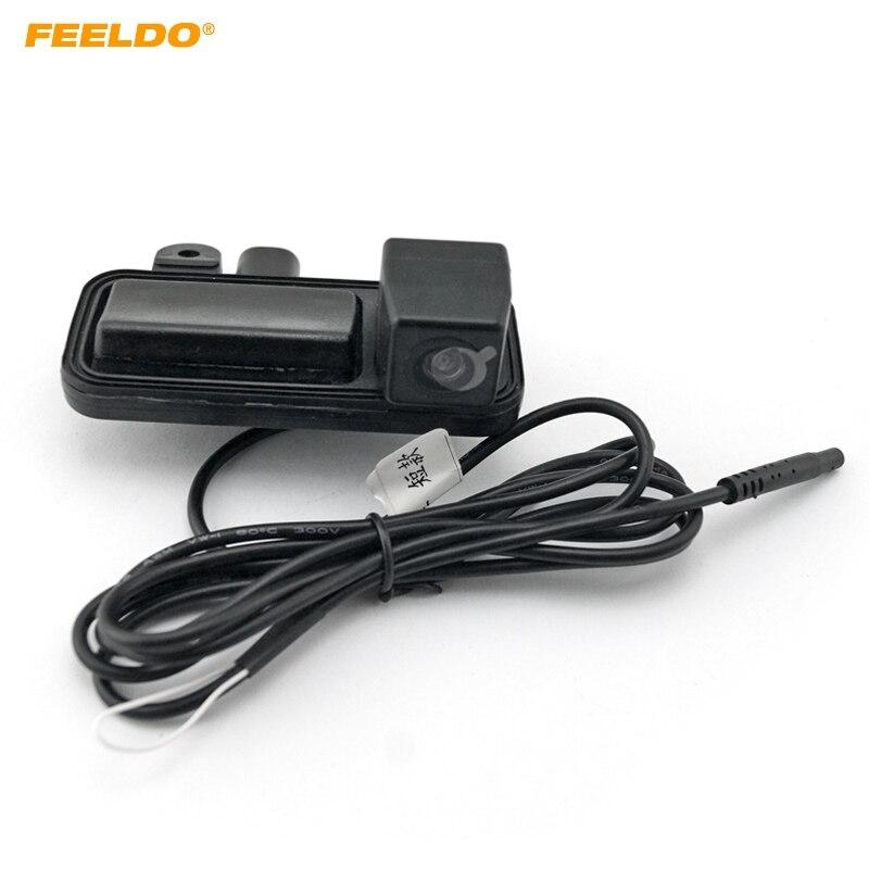 FEELDO cámara de visión trasera de coche cámara para asa de maletero para Mercedes-Benz B180/B200 12/13/14 Cámara # HQ2027