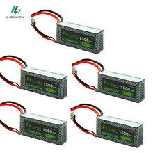 Limskey POWER 3S 11.1V 1500MAH For Remote control model aircraft battery 3S Li-po battery 11.1v Lipo battery 5pcs/lot T/XT60/JST