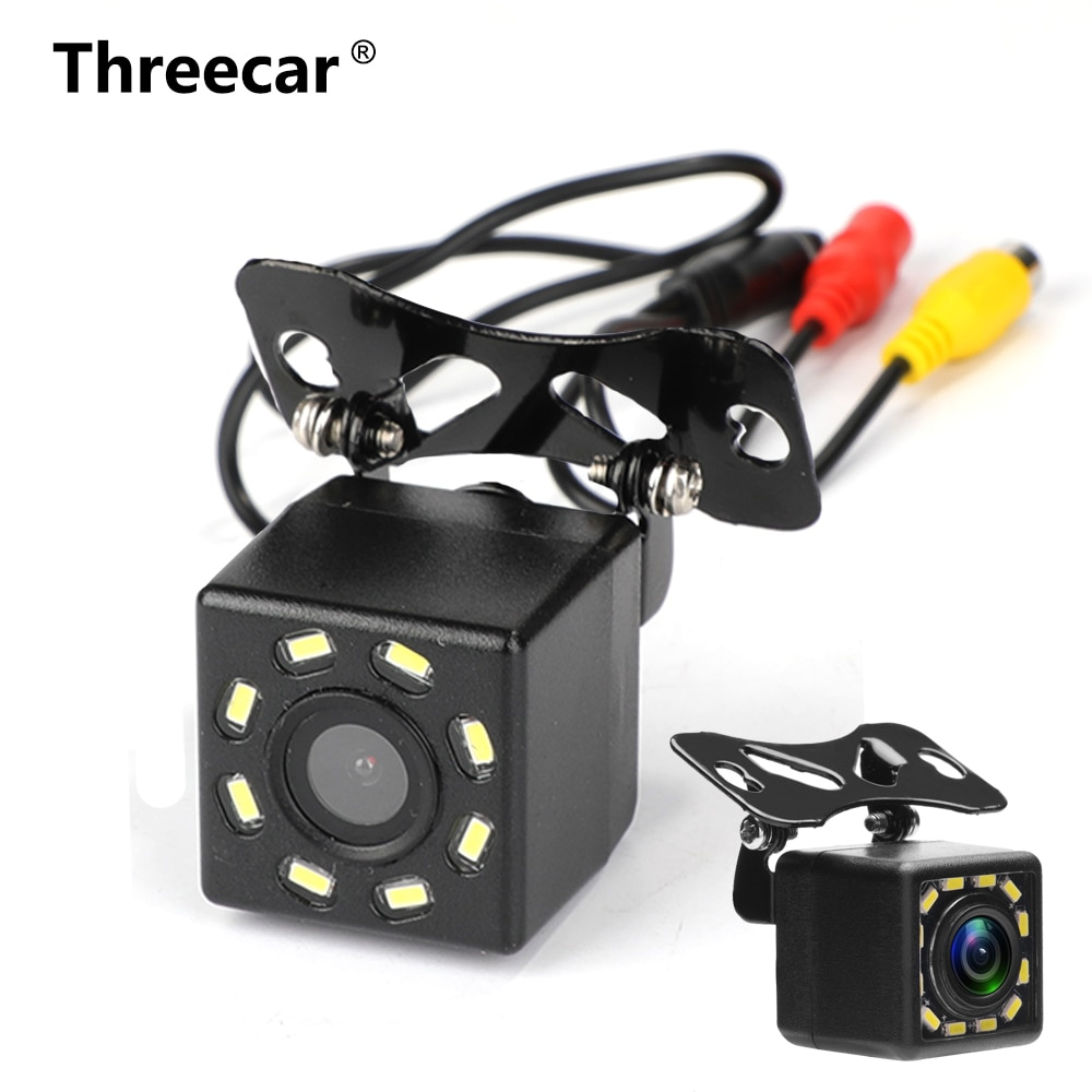 car Rear View Camera Universal 12 LED Night Vision Backup Parking Reverse Camera Waterproof 170 Wide Angle HD Color Image