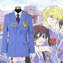 Anime Ouran High School Host Clube Casaco Blazer Jacket Unisex Cosplay Halloween Trajes Sob Medida Todos Os Tamanhos Frete Grátis