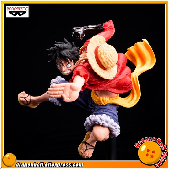 "Japan Anime ""ONE PIECE"" Original Banpresto SCultures GROßE Zoukeiou 6 Vol.3 Sammlung Abbildung-Affe D. Luffy"