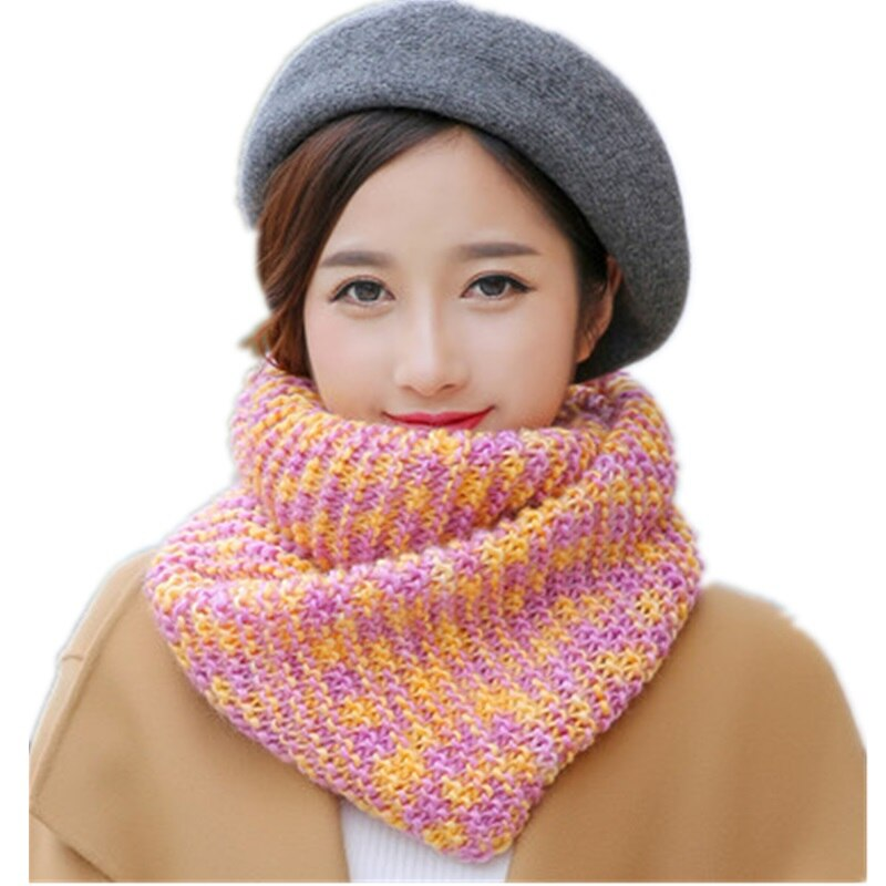 Korean Fashion Knitted Scarves For Women Shawls Stole Winter Warm LIC Womens Scarf Female Luxury Brand LICS Collar Dachshund
