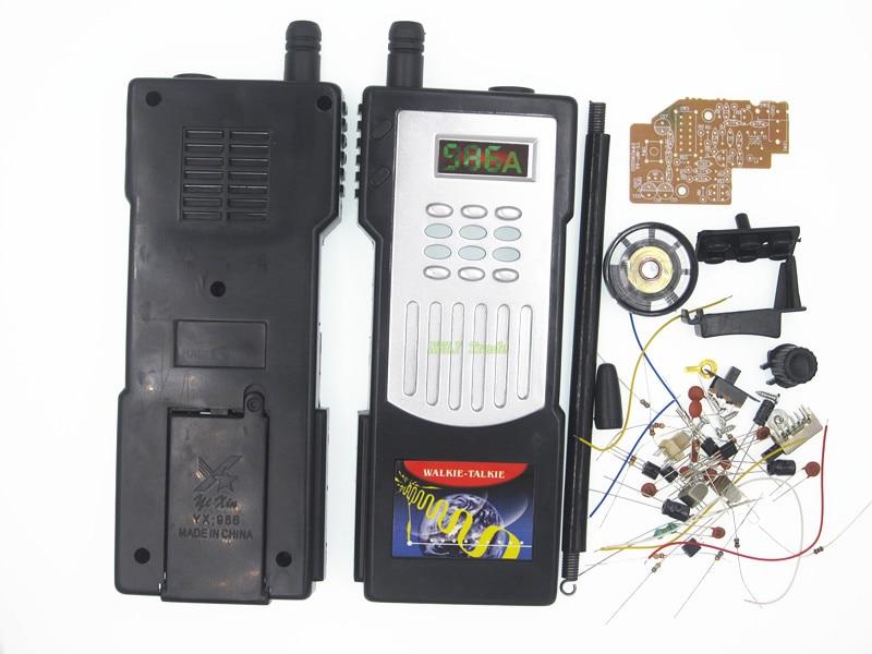 Half duplex intercom intercom kit DIY training kit production of electronic parts