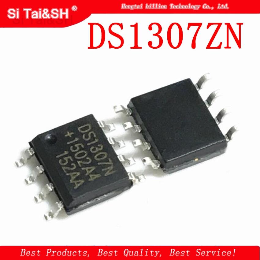 10 pces ds1307zn ds1307z sop8/dip8 ds1307 sop/dip smd novo relógio original timing-relógio em tempo real ic