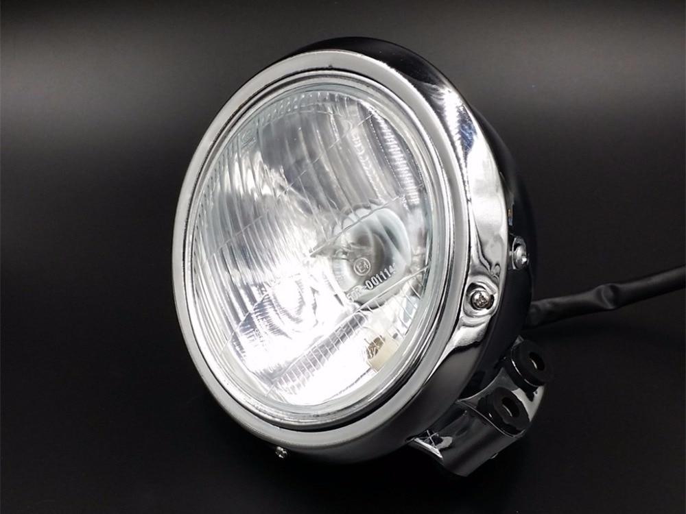 Chrome Headlight Head Lamp for Honda REBEL MAGNA CA CMX 250 750 STEED 400 600