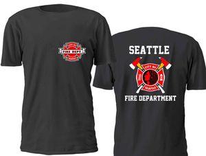 NEW SEATTLE FIRE DEPARTMENT MEN T SHIRT SIZE S-3XL
