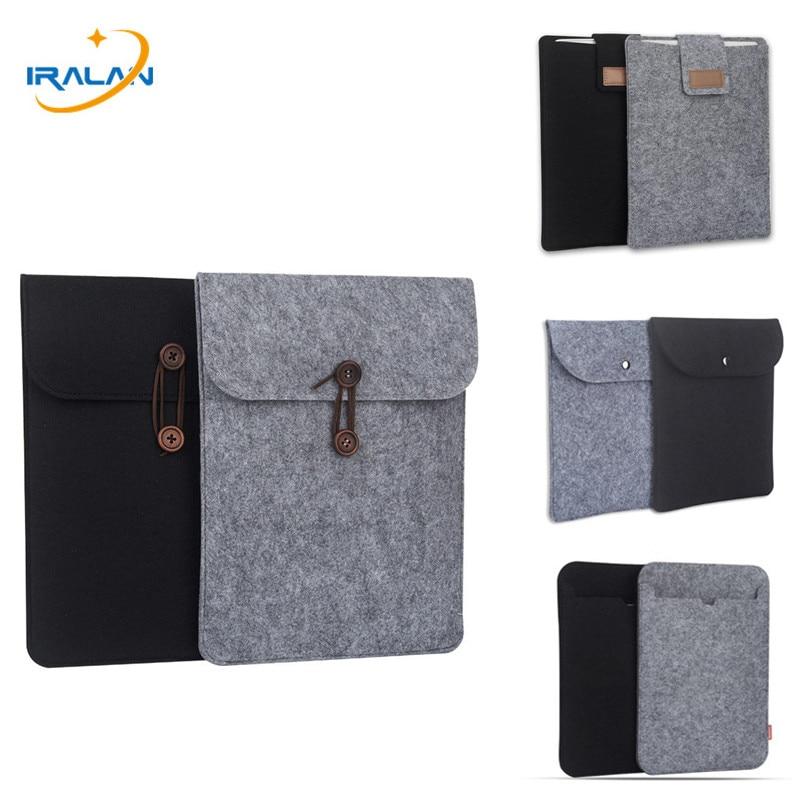 "Мягкая войлочная сумка для нового iPad 2018 9,7 pro 10,5 11 дюймов чехол для iPad mini xiaomi Samsung Huawei 7,9 7 8,0 ""10"" чехол для планшета"