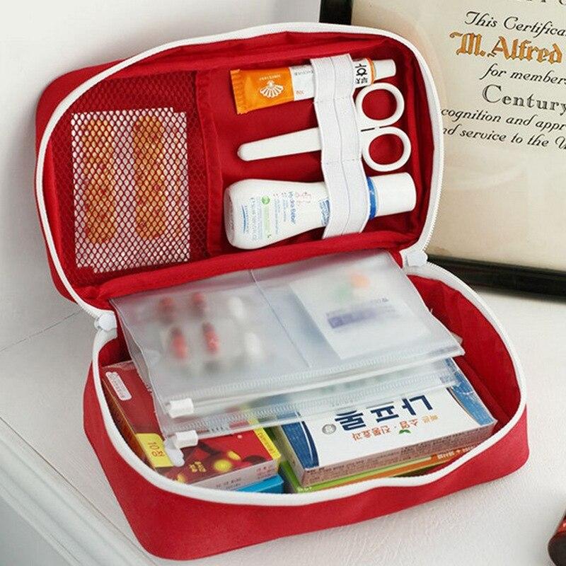 Kit portátil de primeros auxilios, botiquín de primeros auxilios, botiquín de primeros auxilios