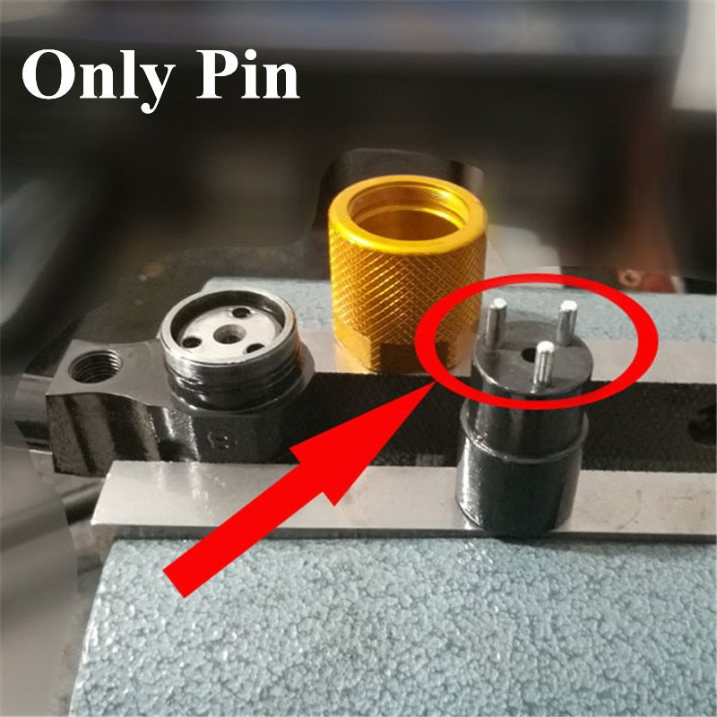 E1024029 tres-Jaw parte Pins 5 unids/bolsa para inyección de combustible Common Rail válvula PIN eliminación Kits de herramienta soporta 150N para denso