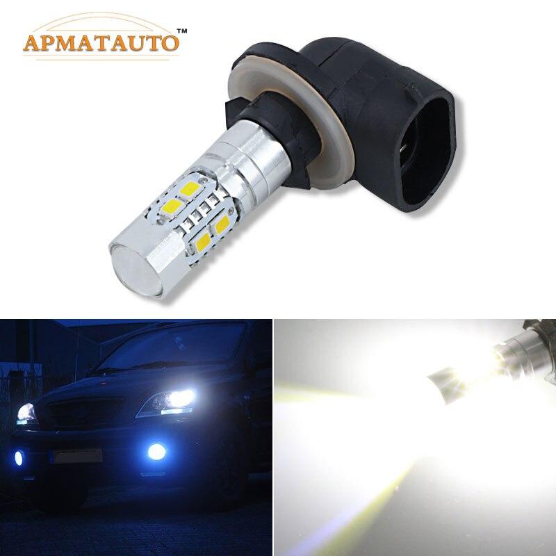 2x50W H27W/2 881 886 894 898 899 bombilla de iluminación LED antiniebla DRL para Kia Sportage Freddy SOUL CERATO SHUMA Carens Sorento, Etc.