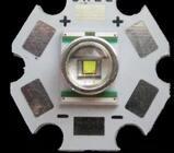 FRETE GRÁTIS 10 pcs XRE ORIGINAL XR-E Q5 1 w 3 w 4 w Branco High Power LED Emissor com 20mm Estrela Contas de Luz Do Dissipador de Calor