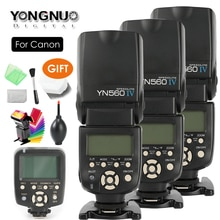 YONGNUO YN560 IV,YN-560 IV Master Radio Flash Speedlite Speedlight + contrôleur de YN-560TX pour Canon 5DIV 650D 1200D 7DII 5DII SLR