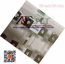 Rf 저항기 RFG100-500 rfg 100-500 RFP500-100 500 와트 100 옴 500 w 100r 더미로드 저항 더블 핀 1 개/몫