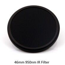 46mm IR95 950nm Infrared IR Optical Grade Glass Filter for Camera Lens Accessories
