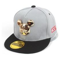 2018 Hot cartoon cute ear hats children snapback Caps baseball Cap with ears Funny Hats spring summer hip hop boy hats caps