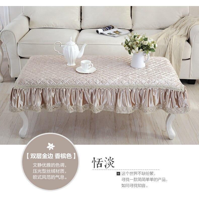 Коврики для стола, европейские скатерти, кружевные противогладильные скатерти, бархатные чайные скатерти, постельные коврики
