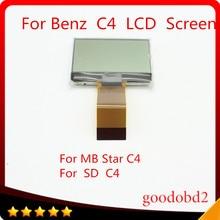 Support décran LCD   Pour Benz MB Star C4, connexion SD C4, outil de diagnostic, SD Connect C4 Compact 4 LCD uniquement