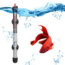 110v-220v YUGE Adjustable Temperature Thermostat Heater Rod 25W/ 50W/ 100W/ 200W/ 300W Submersible A