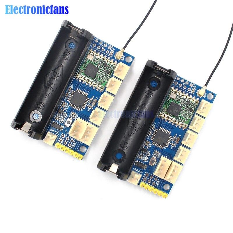 915MHz LoRa Radio nodo V1.0 IOT de transmisión inalámbrica Lora RFM95 SX1276 para Arduino ATmega328P 3,7-12-12 V antena UFL