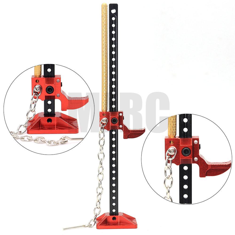 MJRC прочный RC Rock Crawler Slideable металлический инструмент Jack для осевого TRX-4 SCX10 TAMIYA CC01 RC4WD D90 D110 TF2 аксессуары для 1:10