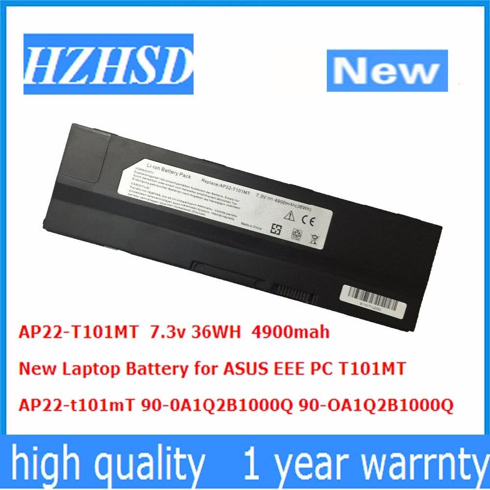 7,3 v 36WH 4900mah nuevo AP22-T101mT batería de portátil para Asus EEE PC T101MT 90-0A1Q2B1000Q 90-OA1Q2B1000Q