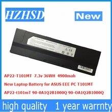 7.3v 36wh 4900mah novo AP22-T101mT bateria do portátil para asus eeee pc t101mt 90-0a1q2b1000q 90-oa1q2b1000q