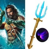 Игрушка «тройник» из фильма «Аквамен» Артур Карри Орин, светильник ящийся меч со светодиодной мигающей палочкой, подарок для мальчика