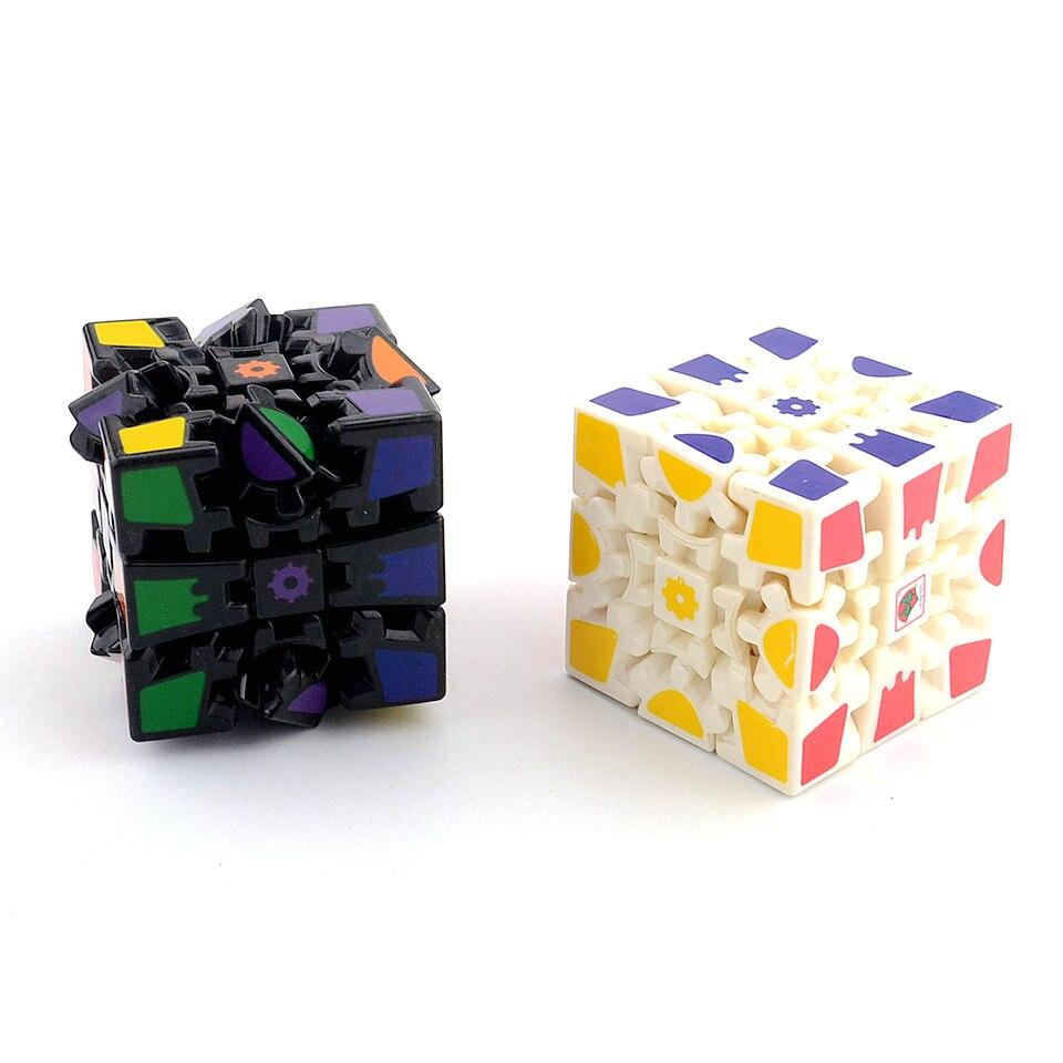2018 nuevas llegadas 3x3x3 engranaje cubos mágicos 3D cubos 6,0 cm juguetes educativos para niños especial creativo juguete de regalo de Navidad