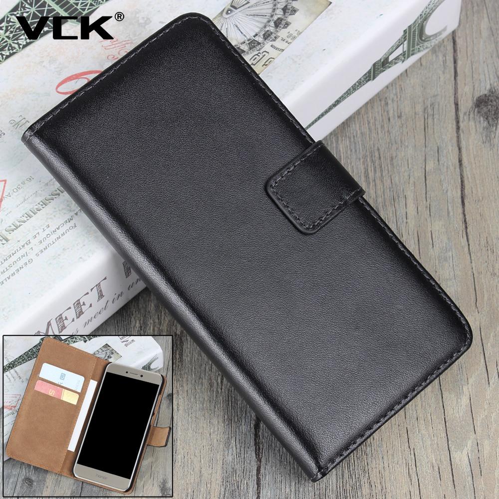 VCK para HTC uno MAX T6 500 SV M9 E9 + Plus + A9 X9 M10 530 Cartera de 630 Flip funda de cuero genuino para teléfono