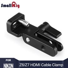 Petit appareil photo DSLR appareil photo HDMI serre-câble pour Nikon Z6 / Z7 L plaque 2258 ou pour Sony A7III / A7RIII caméra L support 2236 2259